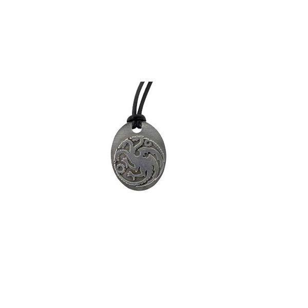 Game of Thrones Kette Anhänger Daenerys Targaryen (Bronze) fire and blood drache