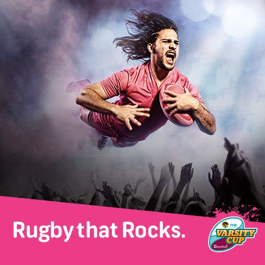 FNB Varsity Cup kicks off on 9 Feb. Get ready for another awesome season of Rugby that Rocks. bit.ly/1DgfmlZ