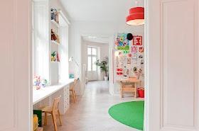 Kids Rooms: Simple Modern Color