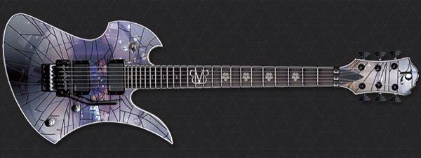 Black Veil Brides Jake Pitts Guitar