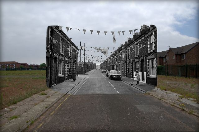 Venice Street, Anfield, 1974 in 2013 Blended | Flickr - Photo Sharing!