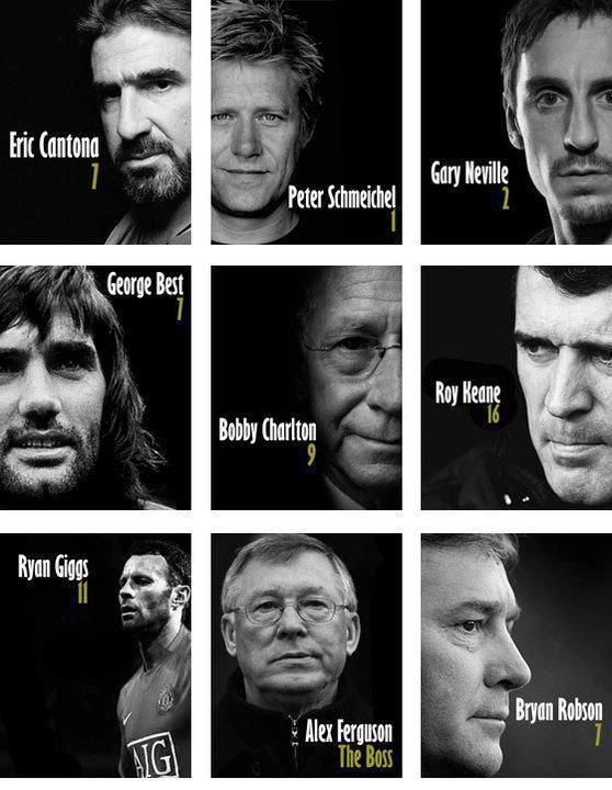 Legends of Manchester United  Some of our Greats..  #mufc #manU #LIVEMUSIC