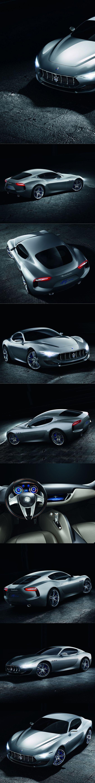 2014 Maserati Alfieri / Italy / concept / silver