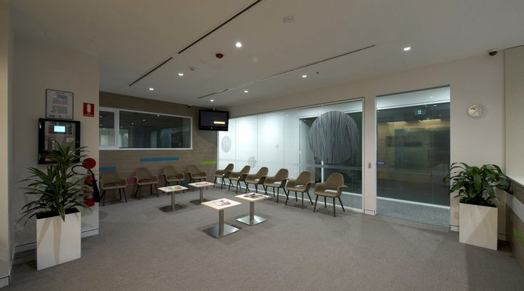 melbourne school college fitout Level 1 Waiting area