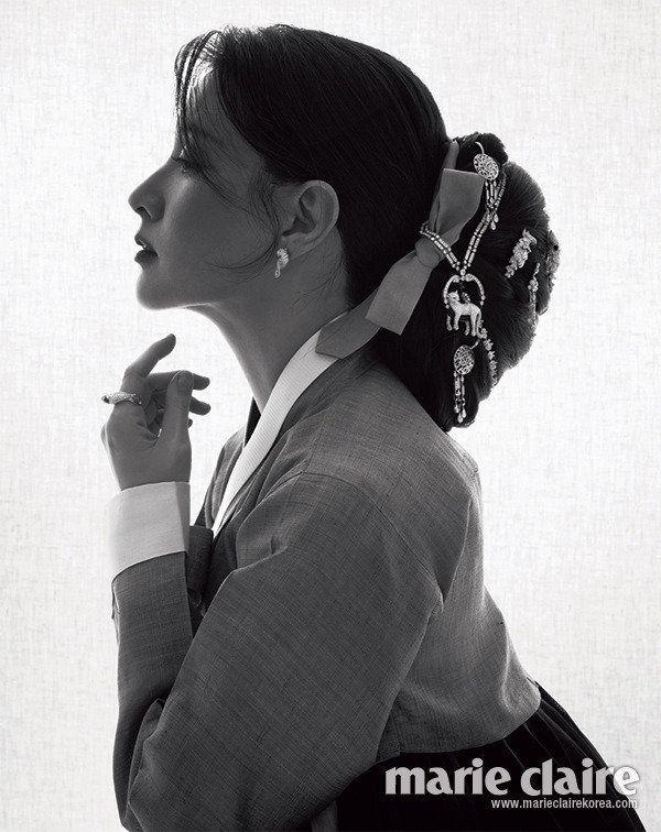 한국 스타, 잡지, 여성 패션, Marie Claire Korea