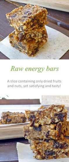 An awesome gluten and dairy free granola bar that contains only nuts and dried…