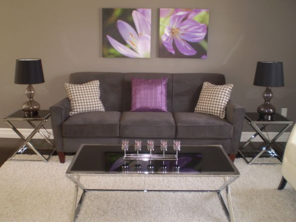 49 best My living room images on Pinterest Home, Live and Colors - purple and grey living room