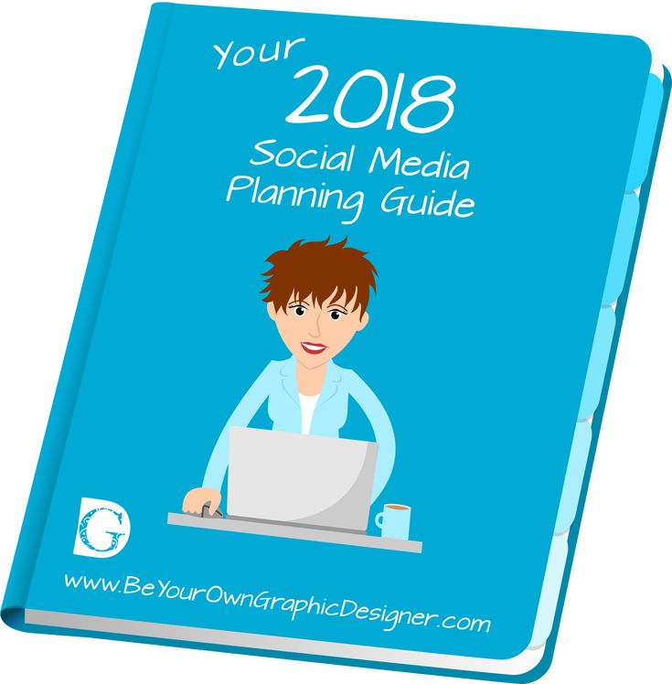 No idea what to say on your Social Media? Our Social Media Planner is just what you need! With your Social Media Planner,  you'll never be without an idea of what to say again. You'll know what, where, and when to post on social media to attract your ideal clients every day. January 2018's Planner has over 200 ideas! Find out more at https://beyourowngraphicdesigner.com/social-media-planner/