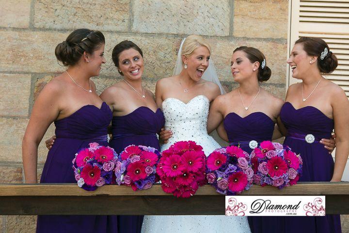 Gorgeous bridal bouquets
