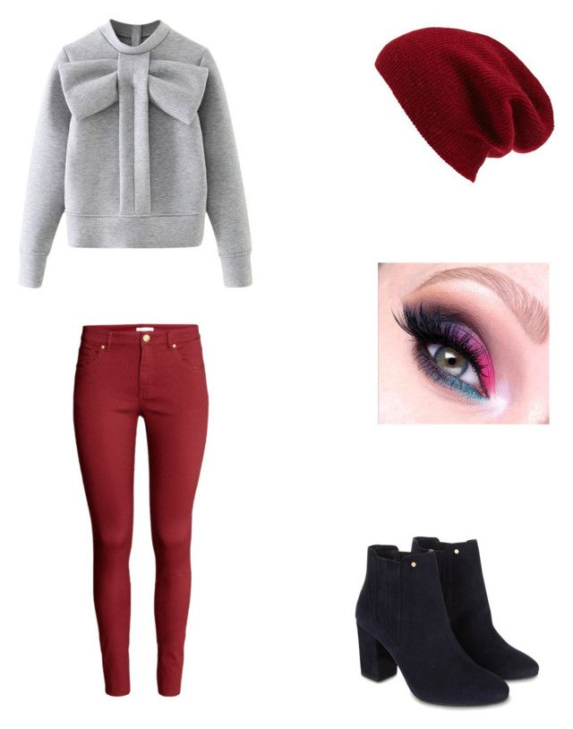 Bez tytułu #74 by wiki208 on Polyvore featuring moda, WithChic, H&M, Monsoon and Halogen