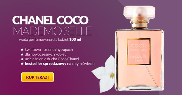 ad banner coco channel by Dariusz Goldmann, via Behance