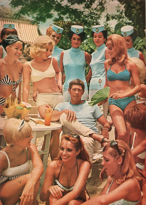 James Coburn & friends in the 60s
