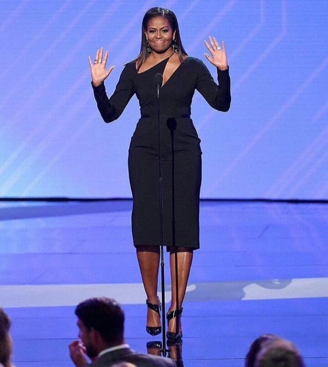 I love this dress Michelle is wearing