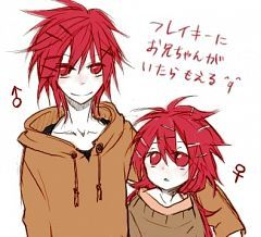flaky boy and girl