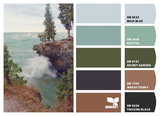 Paint colors from Chip It! by Sherwin-Williams | Decor