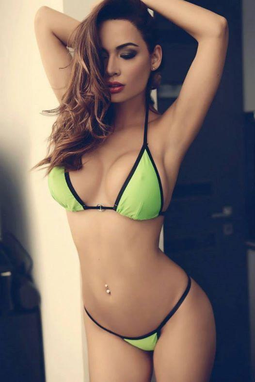 Pretty and 55 goldcup bikini she looks tasty