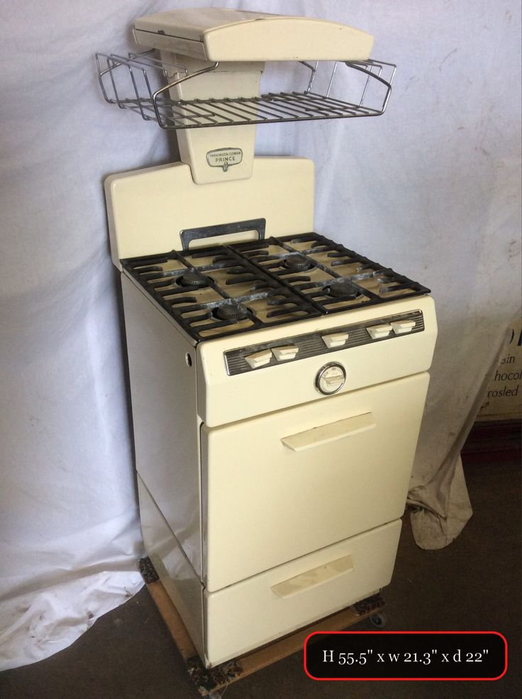 THBPKP05 Parkinson Cowan Prince cream Gas Cooker - Trevor Howsam Limited