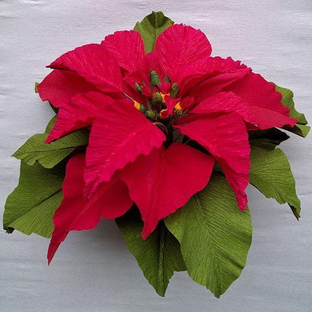 #paper #decoration #crepepaper #christmas