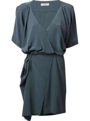 ___Humanoid__safari dress asphalt_100% silk_297€