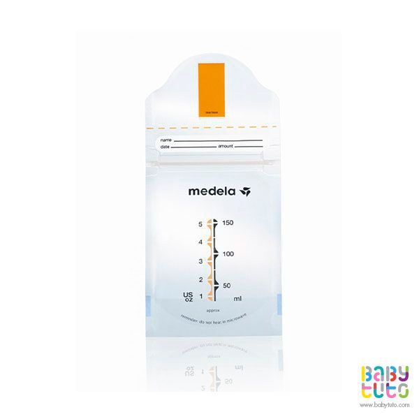 Bolsas para almacenar leche materna Pump & Save 20 unidades, $14.600 (precio referencial). Marca Medela: http://bbt.to/1eDKOnT