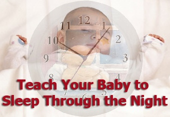 A guide to helping your baby learn to sleep through the night.