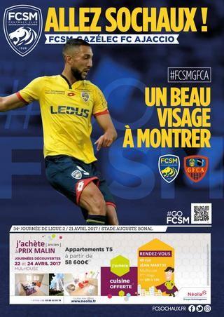 """""""Allez Sochaux !"""" - FCSM-Gazélec FC Ajaccio"""