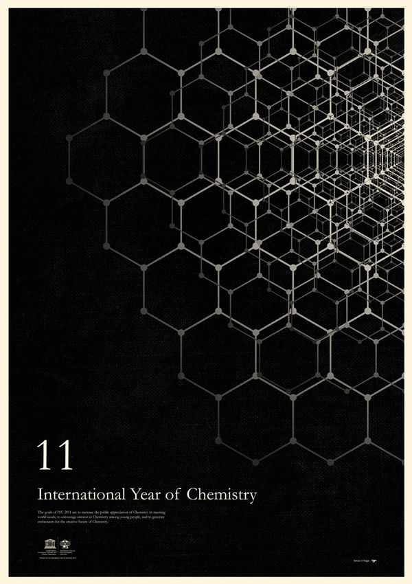International Year of Chemistry by Simon C Page, via Behance