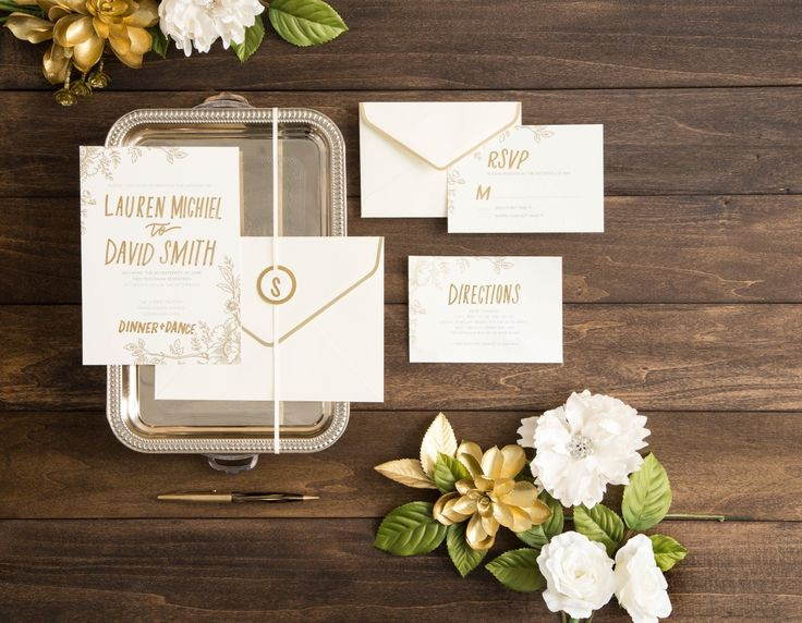 Create The Wedding Of Your Dreams With Diy Invitation Components From David Tutera And Michaels