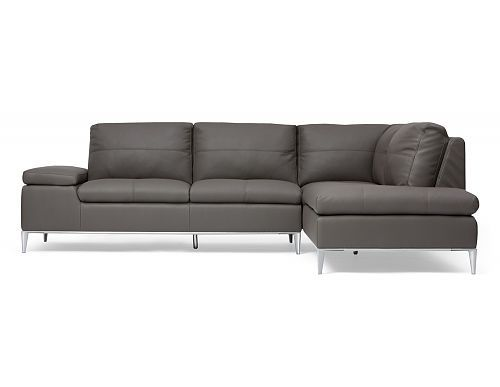 Structube - Living room : Sectional sofas : Andrew (Dark grey)