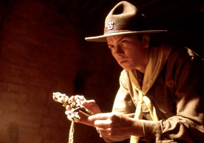 River Phoenix as a young Indiana Jones