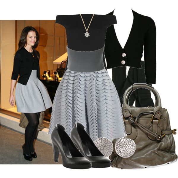 """""""Katie Holmes Style Vol.2"""" by sonia32 on Polyvore #KatieHolmes"""