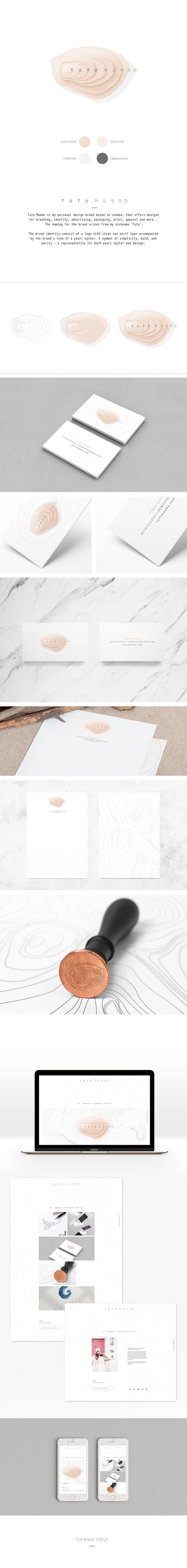 TUTU MUNDO Logo & Brand Identity on Behance