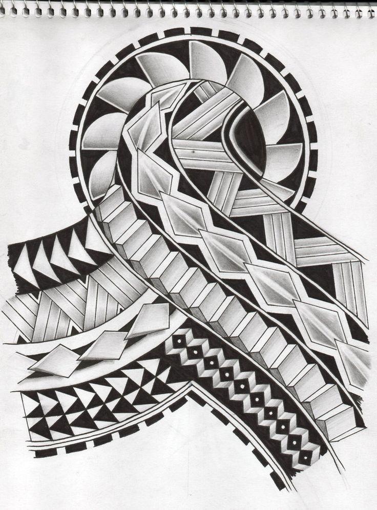 samoan tattoo design 2 by koxnas