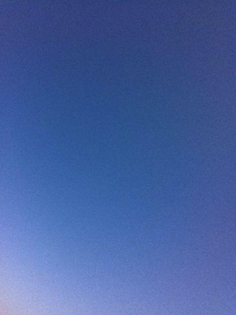 Just sky blue