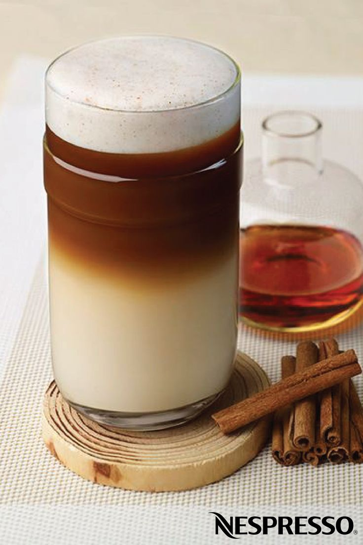 Maple Cinnamon Coffee | All of your favorite fall flavors can be found in this delicious drink recipe—perfectly balancing the maple syrup and cinnamon ingredients.