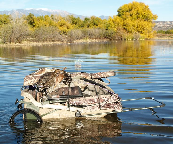 Gear Review Ducks Amp Bucks Cart Blind Duck Boat Duck