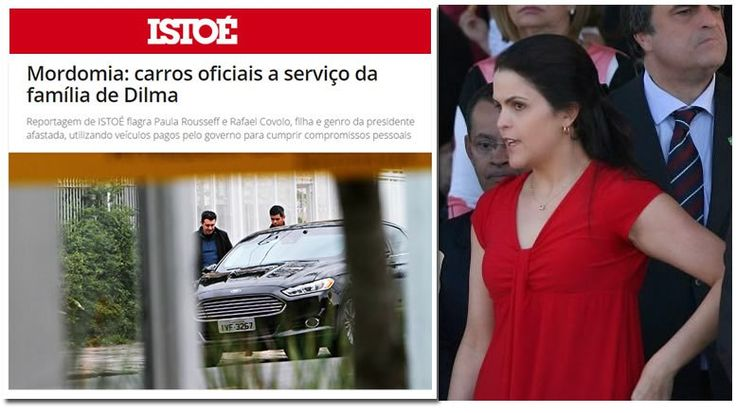 A filha da presidente afastada Dilma Rousseff é Procuradora do Trabalho e não poderá alegar quedeconhece as leis vigentes no Brasil Aceitar…