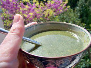 Recette de la bonne soupe d'orties