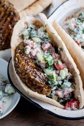Lamb and cumin burgers - Geoffrey Smeddle
