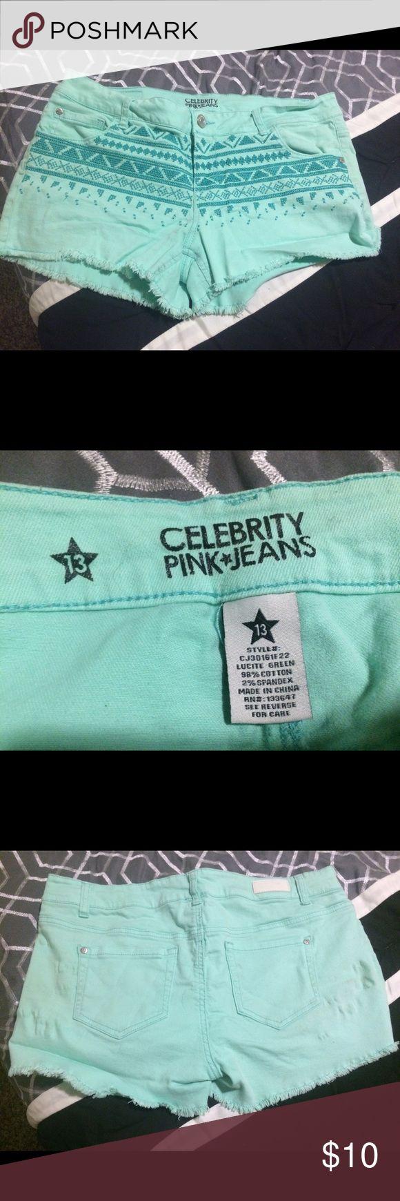 Shorts Size 13 turquoise shorts. Shorts