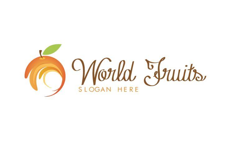 Un Logo personalizzabile per Alimentari. logo per frutterie, o aziende di succhi di frutta
