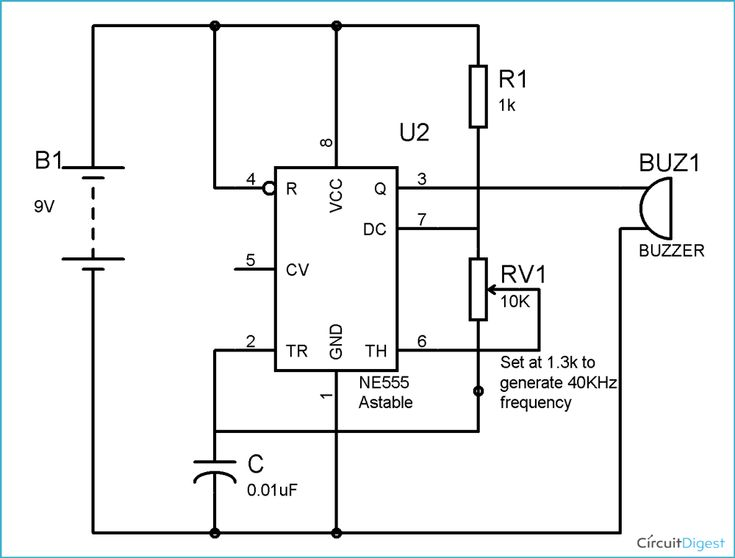 Mosquito Repellent Circuit Diagram Technology In 2019 Pinterest