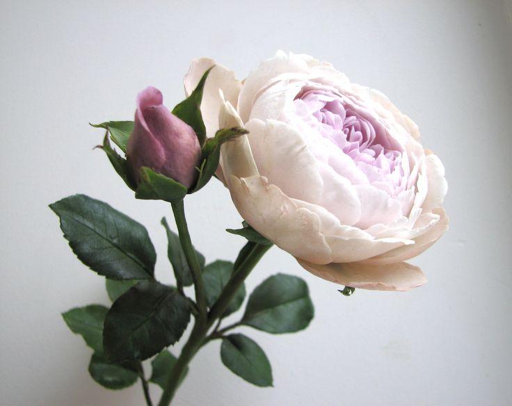Английская роза .Ручная работа.