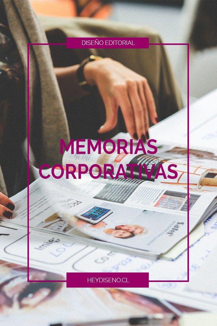 Diseño de memorias corporativas.