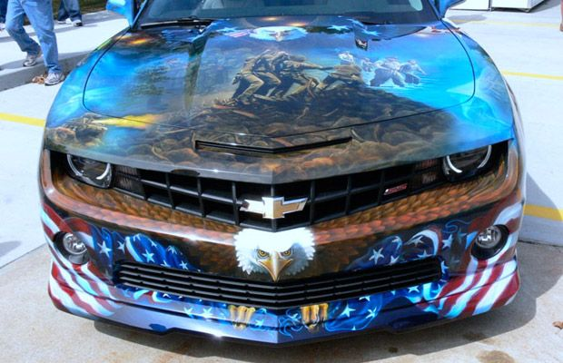 25 Crazy Airbrushed Art Cars