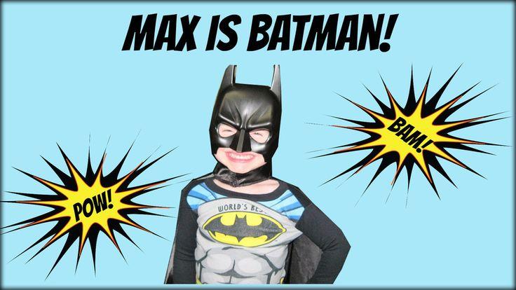 Max is Batman But Don't Tell Anyone!