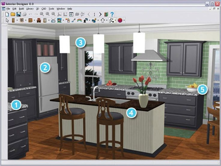 Kitchen Cabinet Layout Program