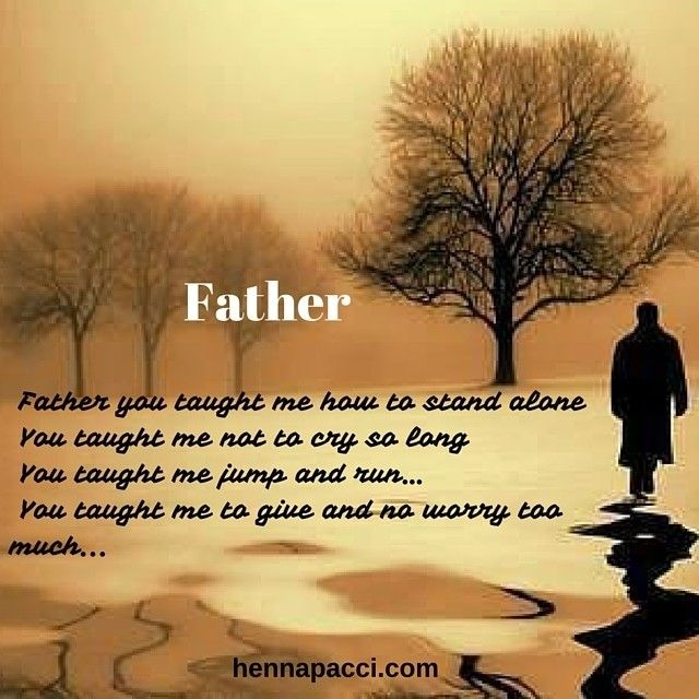 cinta ayah sangat besar loh sahabat... kita sebelum tidur yaa sahabat... jangan lupa doakan ayah bunda... yuk simak puisi mimin tentang ayah sahabt hennapacci... Father  You are a role model for me You are a hero You are my first love You are everything for me  Father you taught me how to stand alone  You taught me not to cry so long  You taught me jump and run  You taught me give and no worry too much  Father I love you so And  You know how much I need you  Father  You are a role model for…