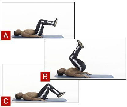 How to do reverse crunches correctly