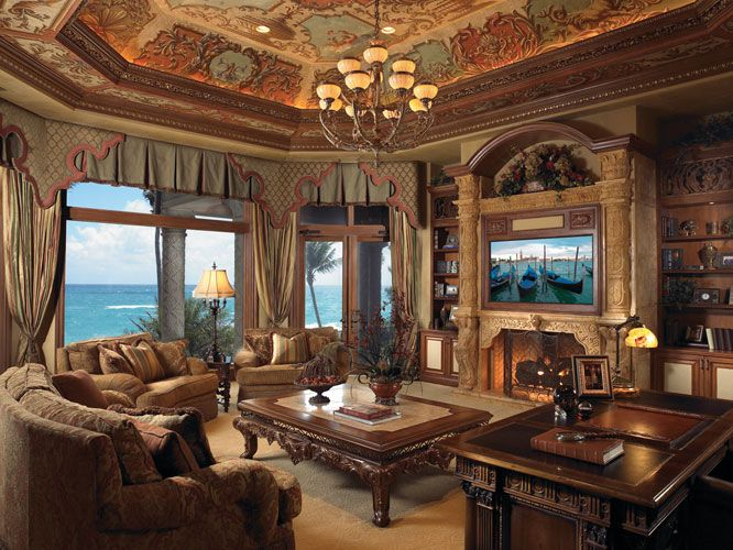 Old World Tuscan Rooms